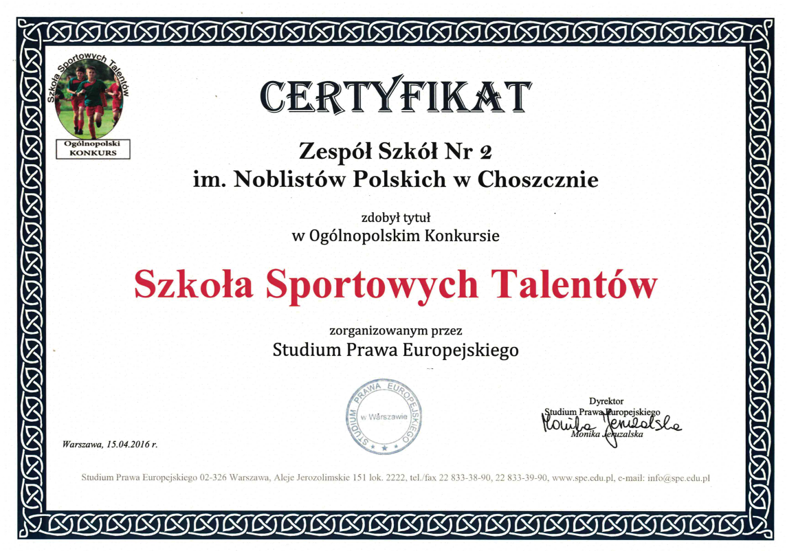 Szkola Sportowych Talentów