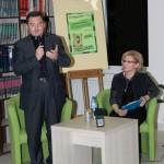 Ksiądz Sławomir Kokorzycki i pani Anna Lewicka