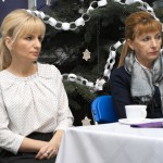 Dyrektor, pani Barbara Ciecierska i pani Halina Biłyk