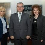 Dyrektor Barbara Ciecierska, pan Piotr Nahorski, pani Izabela Nahorska