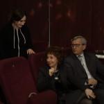 Weronika z rodzicami