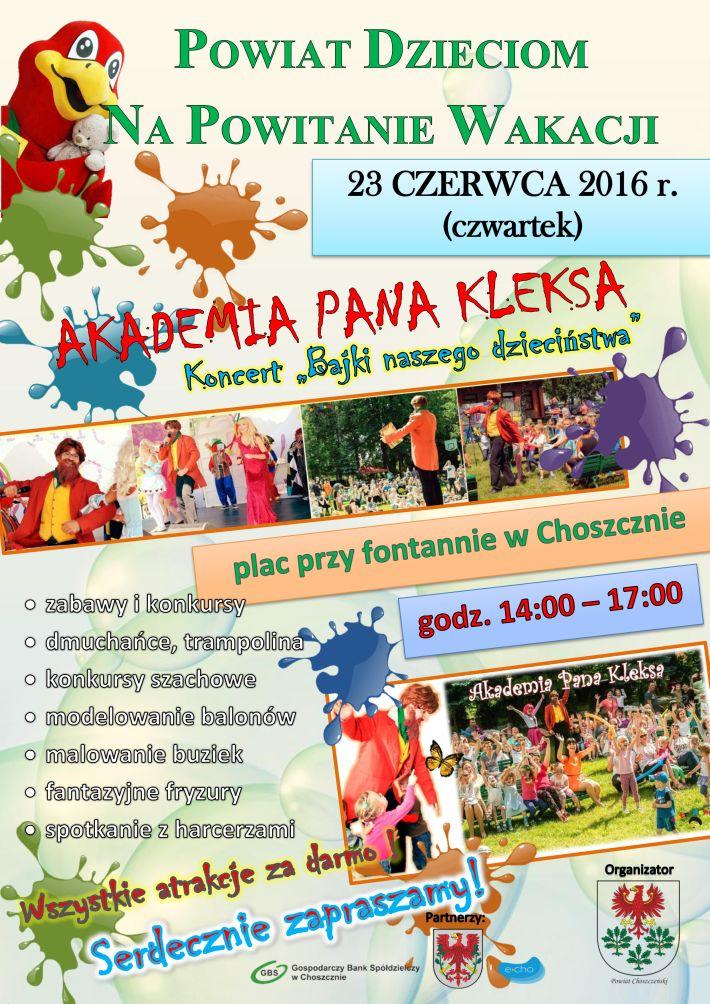 powiat dzieciom 2016